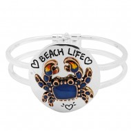 Sea Crab Bangle