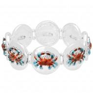 Sea Crab Elastic Bracelet