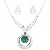 Abalone Necklace Set