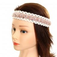Stone Lace Headband
