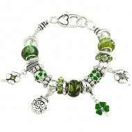 St. Patrick's Theme Bracelet