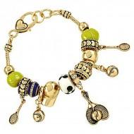 Tennis Theme Bracelet
