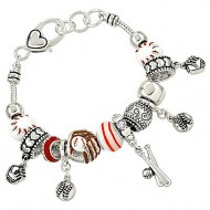 Baseball Theme Bracelet