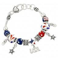 USA Theme Bracelet