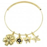 Flower Adjustable Bracelet