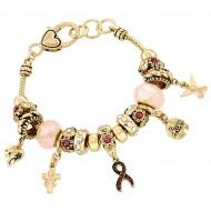Pink Ribbon Bracelet