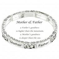 Mother & Father Bracelet