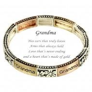 Grandma Message Bracelet