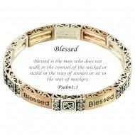 Blessed Message Bracelet