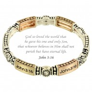 John 3:16 Message Bracelet