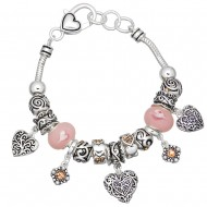 Heart Theme Bracelet
