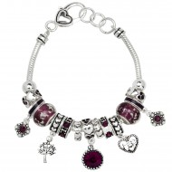 FEB Birthstone Bracelet