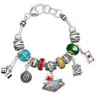 Las Vegas Theme Bracelet