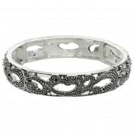 Marcasite Elastic Bracelet
