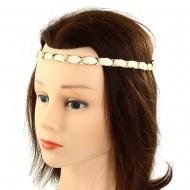 Ivory Fabric Headband