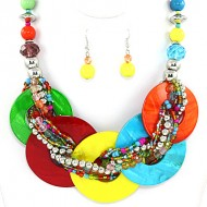 Shell Necklace Set
