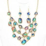 Opal Necklace Set