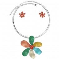 Necklace & Earring Choker