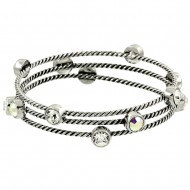 Crystal Stackable Bangle