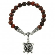 Red Tiger-Eye Bracelet