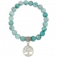Aquamarine Agate Bracelet