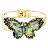 Butterfly Abalone Bangle