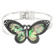 Butterfly Abalone Bangle