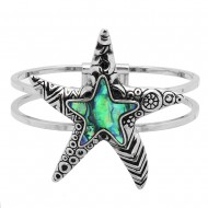 Starfish Abalone Bangle