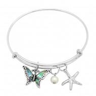 Butterfly Abalone Bracelet