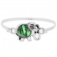 Elephant Abalone Bracelet