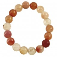 Apricot Agate Bracelet