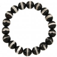 Zebra Marble Bracelet
