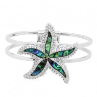 Starfish Abalone Bracelet