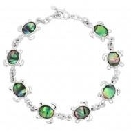 Sea Turtle Abalone Bracelet