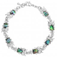 Owl Abalone Bracelet