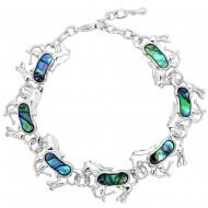 Horse Abalone Bracelet