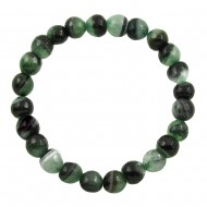 Black Green Agate Bracelet