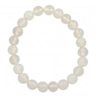 White Opal Stone Bracelet