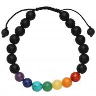 Fog Black Stone Bracelet
