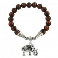 Red Tiger-Eye Bracelet
