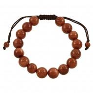 Gold Sand Stone Bracelet