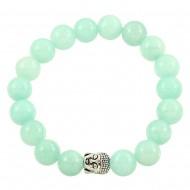 Aqua Jade Bracelet