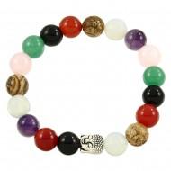 Multi-Color Stone Bracelet
