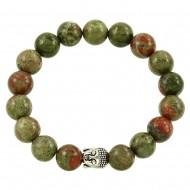 Unakite Stone Bracelet