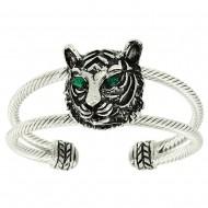 Tiger Head Bangle