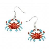 Sea Crab Earring