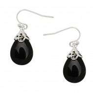 Black Onyx Stone Earring