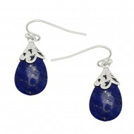 Lapis Lazuli Stone Earring