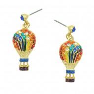 Hot Air Balloon Earring