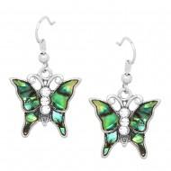 Butterfly Abalone Earring